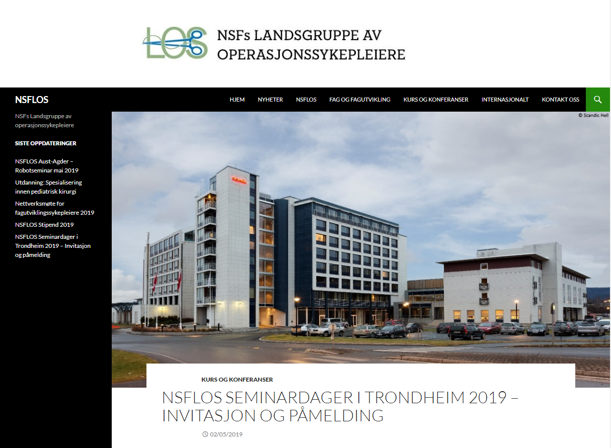NAORN National Congress @ Scandic Hell – Trondheim